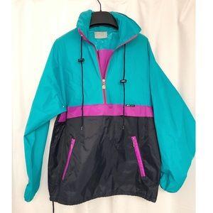 K-WAY Half Zip Rain Jacket